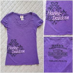 🆕 Harley Davidson purple top
